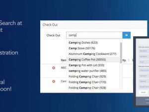 myTurn Release: Search for Items at Check Out, New Registration Options