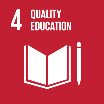 Goal #4: Quality Education