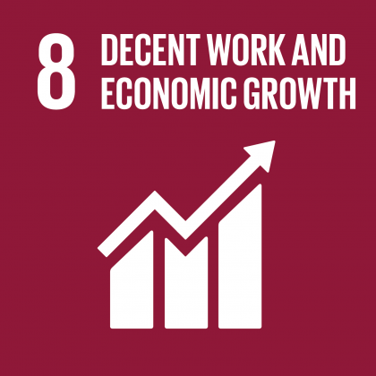 Goal #8: Decent Work & Economic Growth