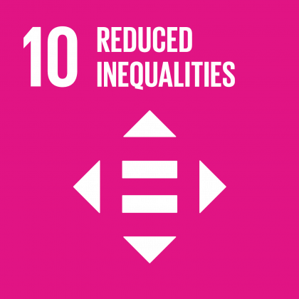 Goal #10: Reduce Inequalities