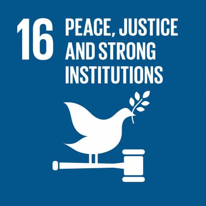 Goal #16: Peace, Justice…