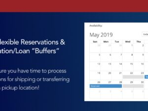 "More Flexible Reservations and Reservation/Loan ""Buffers"" 
