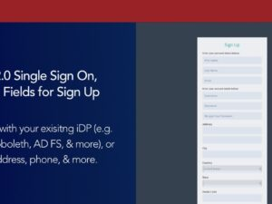 New SAML 2.0 Single Sign On, User Registration Options, & more!