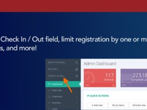 "Unified ""Check In / Out"" field, limit registration by multiple domains, and more!"