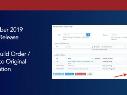 Bonus Release: Undo Build Order / Revert to Original Reservation