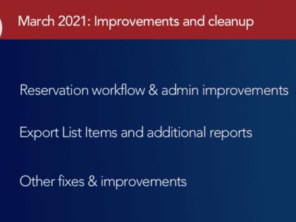 March 2021 myTurn Updates: Grab bag of improvements